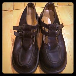 Dr Martens brown Mary Janes